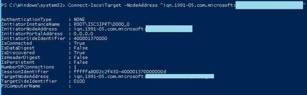Configuring iSCSI Target on Server 2012 Core – UseIT | Roman