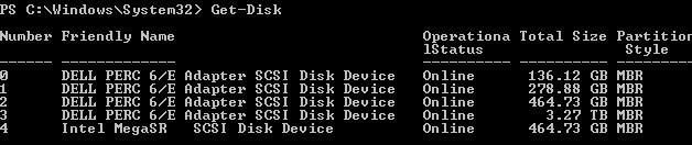 get-disk