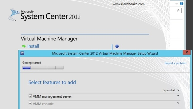 vmm 2012-upgrading-to sp1-1