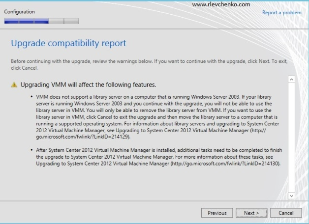 vmm 2012-upgrading-to sp1-12