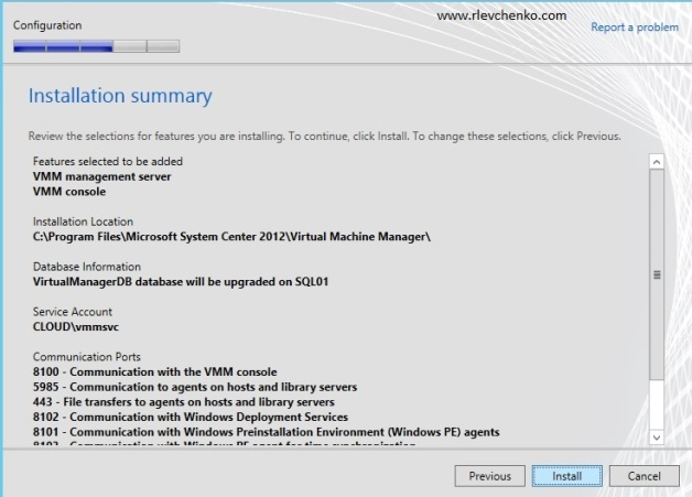 vmm 2012-upgrading-to sp1-13