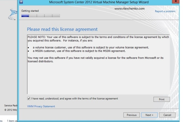 vmm 2012-upgrading-to sp1-3