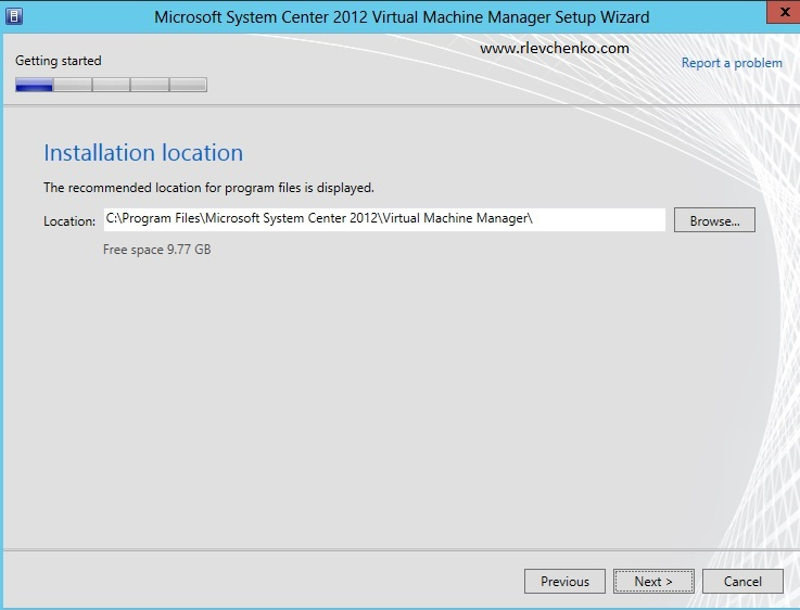 vmm 2012-upgrading-to sp1-5