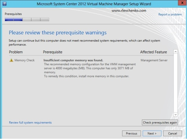 vmm 2012-upgrading-to sp1-6