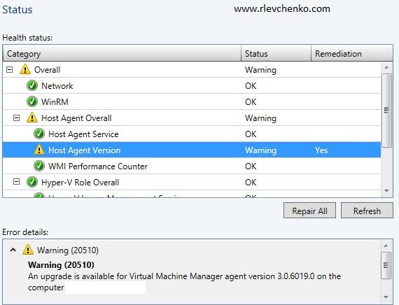 vmm-agent-status