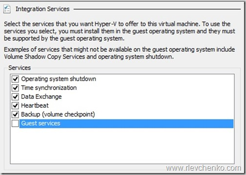 Guest Services in Hyper-V and Copy-VMFile – UseIT | Roman