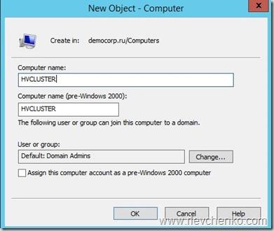 cluster creating error 1