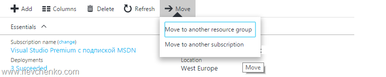 TOTD: How to manually move Azure VMs to another subscription – UseIT