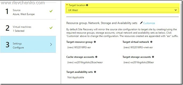 azure site recovery for azure vms_5