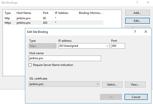 Using IIS as a reverse proxy for Jenkins – UseIT | Roman